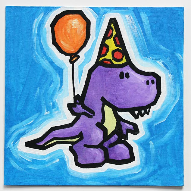 dinosaur balloon