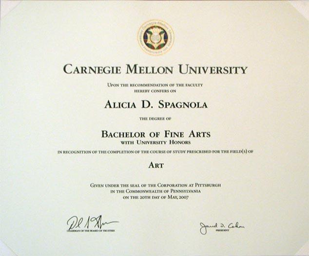 Carnegie Mellon Essay Examples