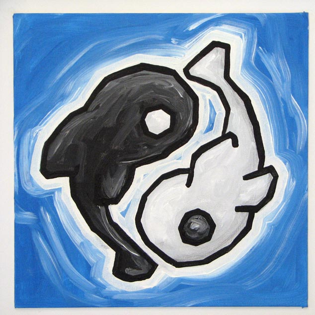 yin yang fish ali spagnola 39 s free paintings. Black Bedroom Furniture Sets. Home Design Ideas