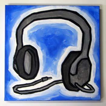 Headphones again