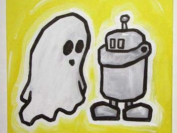 Ghost And Robot