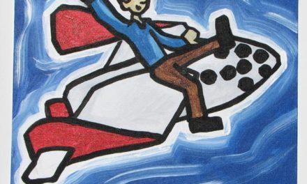 Guy Riding Virgin Galactic