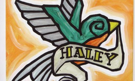 Bird With Haley Banner