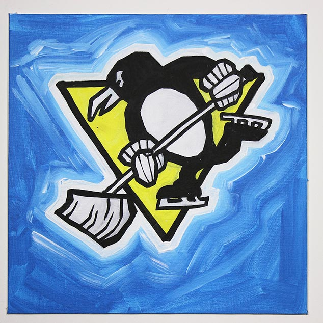 Pittsburgh Penguins Ice Crew Logo
