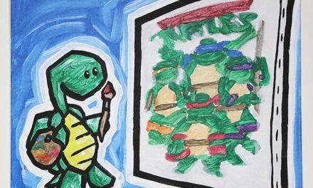 Turtle Painting Teenage Mutant Ninja Turtles