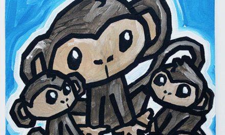 Monkeys Three