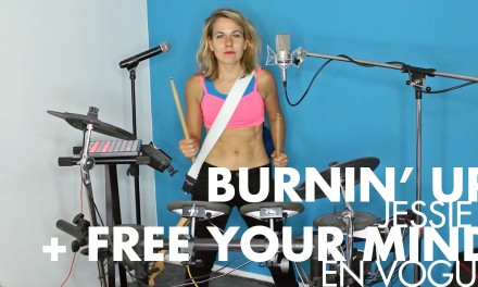 Burnin' Up Your Mind [Jessie J + En Vogue mashup One-Gal Band cover]