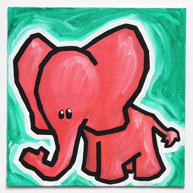 Pink Elephant No. 3