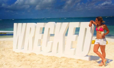 I do what giant letters on beaches tell me. #GetWrecked