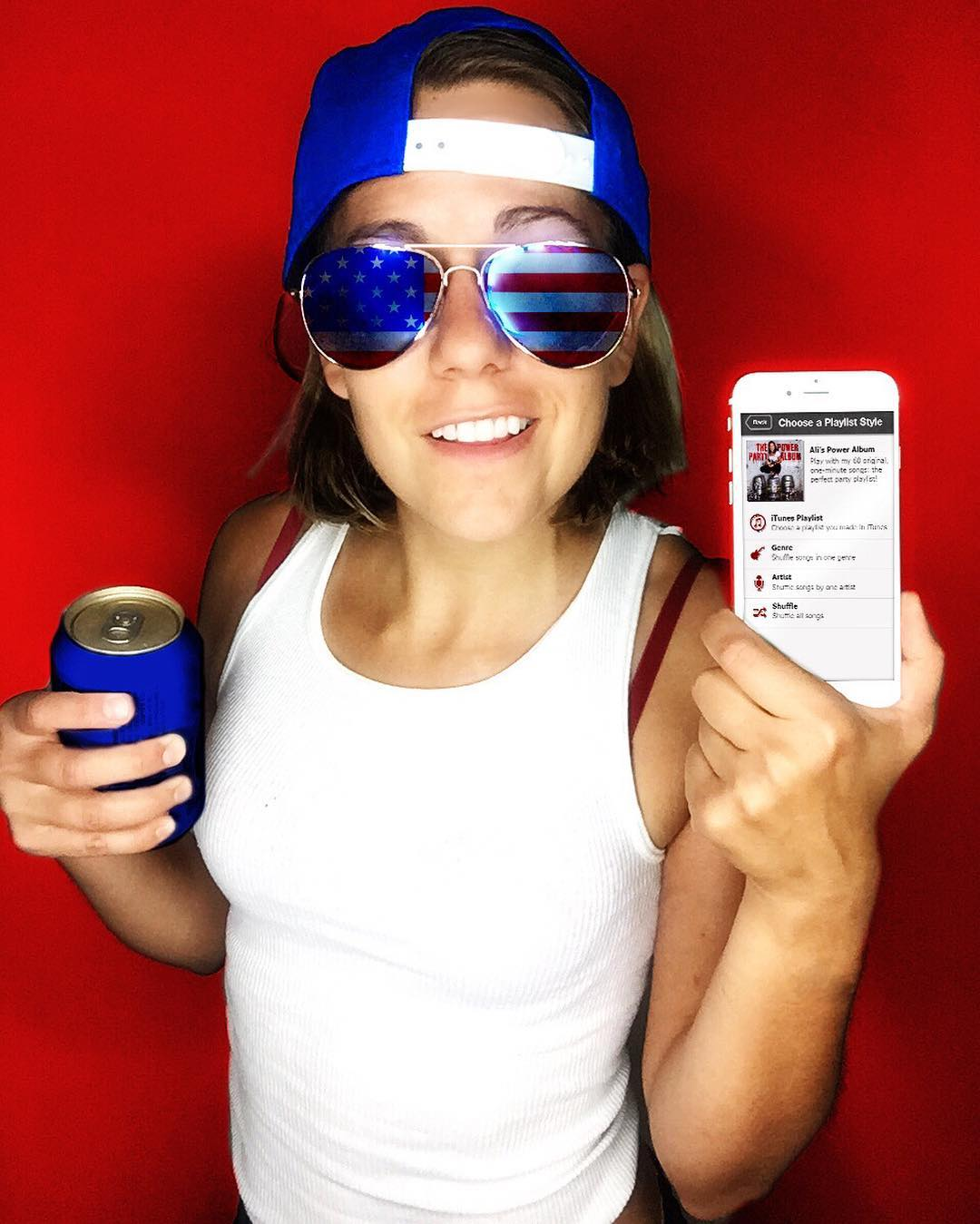 Holiday weekend! Play my drinking game! With my Power Hour App! Exclamation! (Link in my bio)