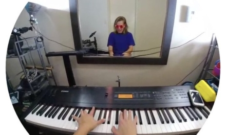 This is what it's like to play your own theme song