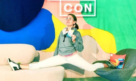 At #Patrecon getting inspired to streeeetch my imagination for my OUTRAGEOUS @Patreon supporters