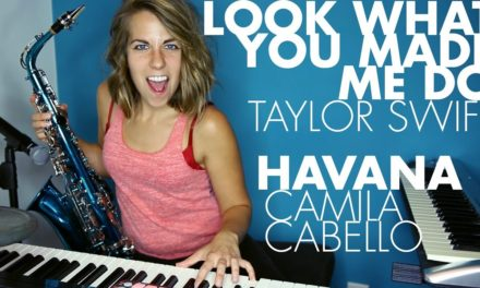 """Havana "" Camila Cabello + ""Look What You Made Me Do"" Taylor Swift (Ali Spagnola mashup cover)"
