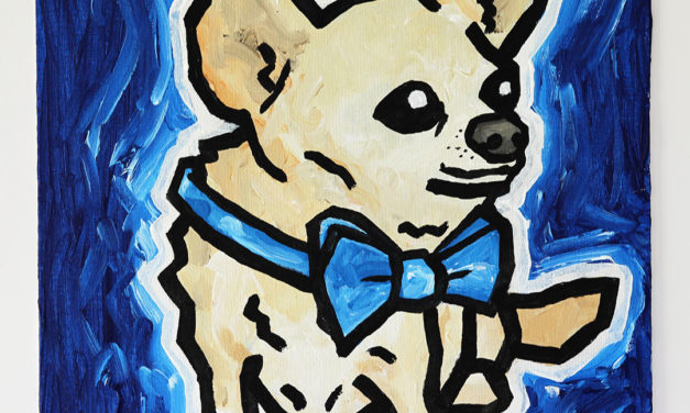Dog with Bowtie