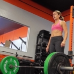Some extra girly deadlifts in pink