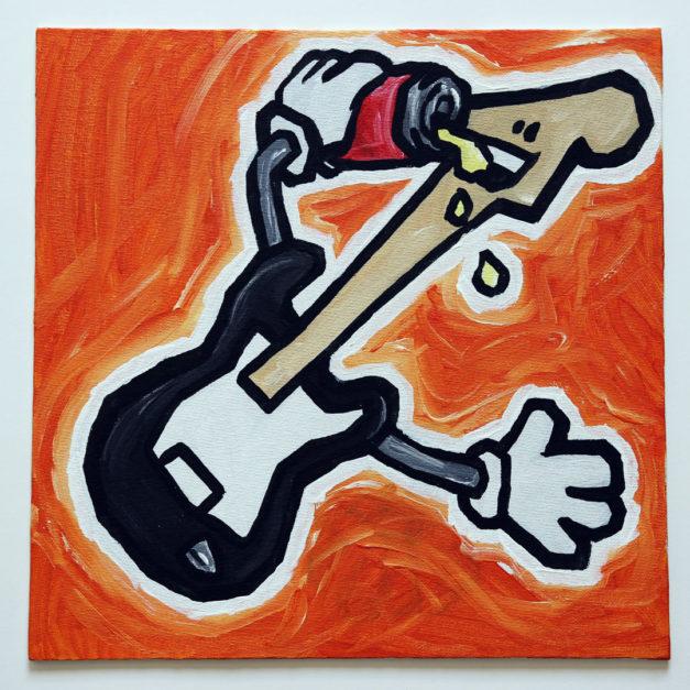 Beer Chugging Guitar